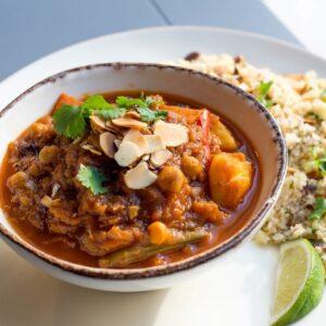marokański tażin wegański