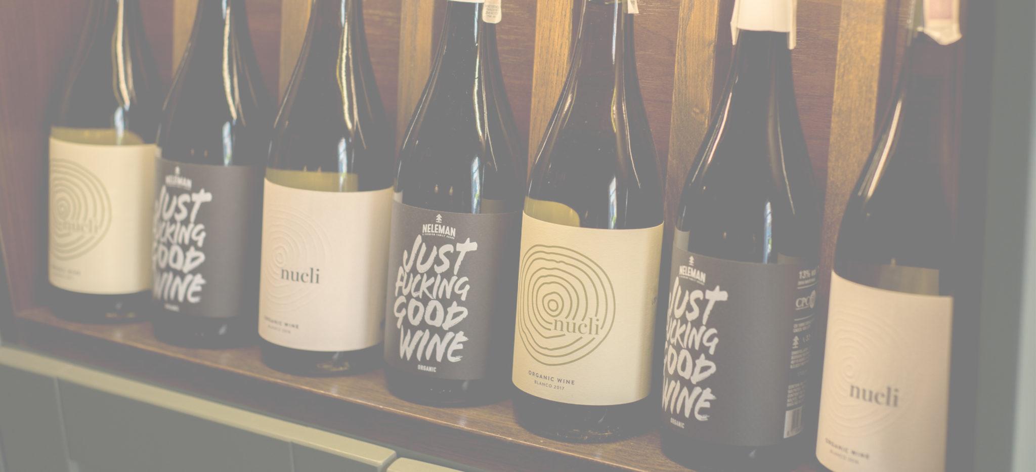 Wino – butelki